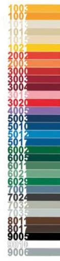 Catalogo colori RAL - Vernicespray HQS